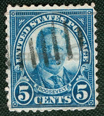 Roosevelt on US vintage postmark | Foto stockowe wysokiej rozdzielczości |ID 4286647