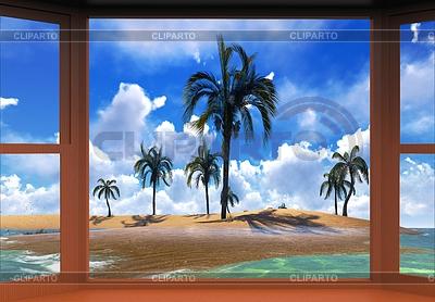 Sonnenuntergang auf Hawaii | Illustration mit hoher Auflösung |ID 4321525