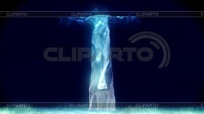Jesus Kreuzigung | Illustration mit hoher Auflösung |ID 4381378