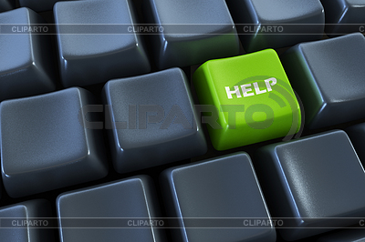 Keyboard with support button | High resolution stock illustration |ID 3780189